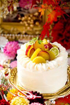 Sweet Potato Japanese Shortcake さつまいものショートケーキ