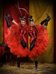 Cirque Du Chic - Extraordinary Event Acts by Neil Hughes, via Behance