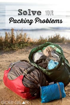 The HOBOROLL is not like every other stuff sack! It has 5 compartments that allows you to separate and organize your things. No more reaching into the bottom of your bag, never to find what you're looking for. Solve your packing problems with the HOBOROLL.