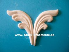 Wandtattoo - Echter Stuck - Stuck Ornament - Flügel - ein Designerstück von RC-Stilmoebel bei DaWanda