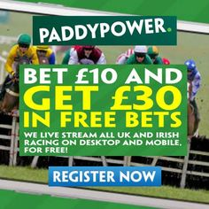 Paddy Power Promo Code - Bet £10 Get £30 Paddy Power Horse Racing Bet Promotion…