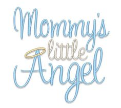 Mommy's Little Angel by ShesSewVain on Etsy