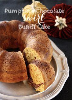 Pumpkin Swirl Bundt Cake