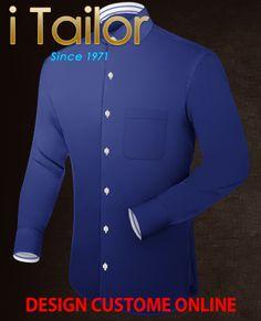 Design Custom Shirt 3D $19.95 costume homme tendance Click http://itailor.fr/suit-product/costume-homme-tendance_it52070-11.html