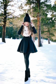 Southern Curls & Pearls: Sparkle in the New Year Winter Outfit For Teen Girls, Winter Outfits For Work, Winter Outfits Women, Casual Winter Outfits, Outfits For Teens, Fall Outfits, Cute Outfits, Fashion Outfits, Winter Skirt Outfit