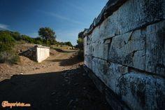 Greece, Attica, Ramnous archaelogical site