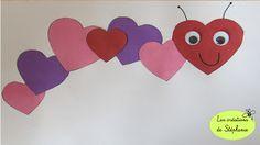 Les créations de Stéphanie: Bricolage pour le préscolaire en lien avec la Saint-Valentin Valentine's Day Crafts For Kids, Valentine Crafts For Kids, Daycare Crafts, Preschool Crafts, Valentines Surprise, Valentines Diy, Valentine Makeup, Decoration St Valentin, Valentines Bricolage