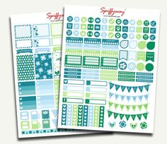 March Planner Stickers  Daily Planner Stickers  by Spiffyway #marchplannerstickers #greenplannerstickers #blueplannerstickers #stickersplanner https://www.etsy.com/listing/261366362/march-planner-stickers-daily-planner?ref=shop_home_active_10
