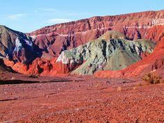 Valle del Arcoiris, Atacama-Chile