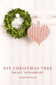 DIY Heart Christmas