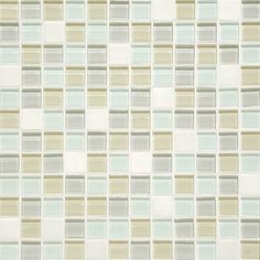 """View the Daltile BP98-11MS1P Mosaic Traditions 1"""" x 1"""" Oasis Mosaic Wall Tile Sheet Size (12"""" x 12"""") at Build.com."""