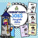 Classroom Jobs - Fairy Tale Theme