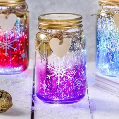 Are you interested in our Christmas Snowflake LED Ombre Jar? With our christmas light for a babys room you need look no further.