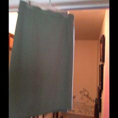 Light green dress skirt sweater or jacket ready Light green dress skirt winter lined Imagio Skirts