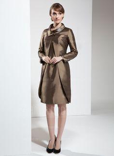 Kleider für die Brautmutter - $132.99 - Etui-Linie U-Ausschnitt Knielang Taft Kleid für die Brautmutter (008006137) http://amormoda.de/Etui-linie-U-ausschnitt-Knielang-Taft-Kleid-Fuer-Die-Brautmutter-008006137-g6137