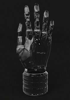Bionic Hand, by Lars Sowig.