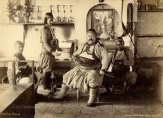 From Sufis to Starbucks: A Short History of Coffee Addiction | http://brazenglobe.com/2014/09/19/from-sufis-to-starbucks-a-short-history-of-coffee-addiction/ | An Ottoman coffee house circa 1875. Photo by Abdullah Freres.