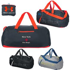 d938d722b3 Promotional Under Armour Packable Duffel Bag Item  1256394 (Min Qty  3).
