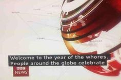 Happy Chinese New Year from the BBC.
