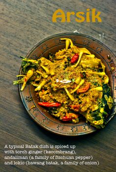 Indonesian Fish and Seafood: Arsik (Batak style Spiced Carp with Torch Ginger and Andaliman)