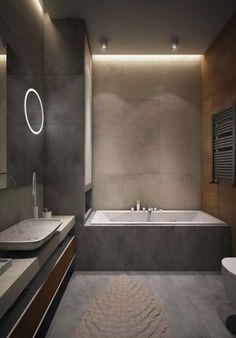 20 Ideas for bathroom vintage modern interior design Modern Bathroom Design, Bathroom Interior Design, Home Interior, Modern Interior Design, Interior Design Living Room, Ok Design, Layout Design, House Design, Bath Design