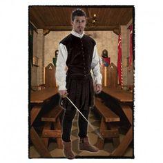 Disfraces medievales hombre | Disfraz de noble hidalgo medieval, compuesto de pantalon bombacho y chaquetilla con camisa blanca interior, decorada con chorreras.  27,95€  #disfraz #medieval #disfraces #medievales #hidalgo #noble #medievo #bombacho #chorreras #edadmedia #edad #media #disfrazmedieval