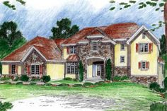 House Plan 312-711-seriously love the layout