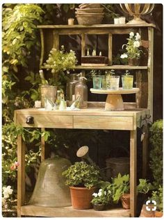 Perfect Potting Bench☘️