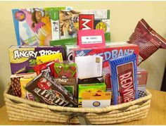Ms Zakeljs Family Game Night Basket Everything You Need For A Fun