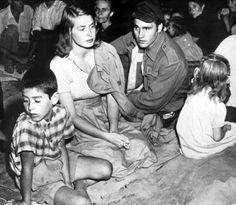 "Ingrid Bergman - "" Stromboli, terra di Dio "" 1950, regia di Roberto Rossellini"