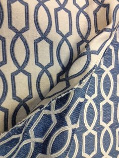 This is a great subtle geometric upholstery fabric that could be a great addition to any style room