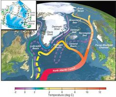 The Weather Network - North Atlantic Current could temporarily stop in the next century Layers Of The Ocean, Marine Plants, Ocean Current, Weather Network, Greenhouse Gases, Atlantic Ocean, Earth Science, The Next, Global Warming