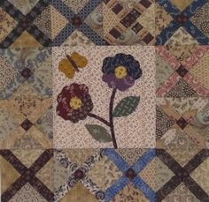 Vintage Crosses Quilt / Pine Valley Quilts