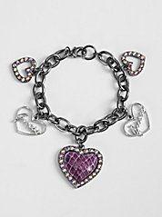 I love charm bracelets...