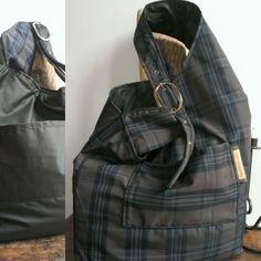 Eureka inside and outside, doublefaced bag www.bacididama.eu