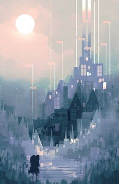 Geometric Land And Cityscapes