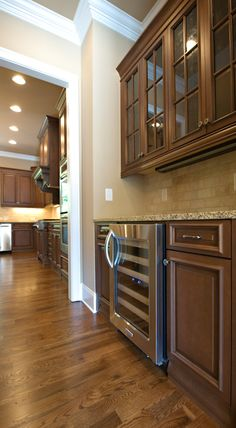 Butler Pantry by SR Homes, LLC-- inspiring our choices in our new custom home!