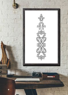 INSTANT DIGITAL DOWNLOAD: Abstract Geometric Wall Art Printable artworks Black and White Arts ** Code W-0107 ***  ** NO PHYSICAL PRINT INCLUDED ***  ** LIMITED TIME OFFER MAY & JUNE 2017: only 2 $ instead 5 $ ***  Print out this modern wall artwork from your home computer or local print shop to style and decorate your home or office!  Your order will include 4 JPG with different sizes. Youll get every single file described below! Having these multiple files helps ensure that you can print...