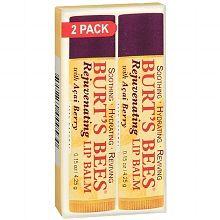 Burt's Bees 100% Natural Lip Balm Acai Berry