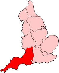 West Country English - West Saxon - Wessex - King Alfred - Standard English derives from Mercian [Anglian] dialects - Somerset dialect - Thomas Spencer Baynes