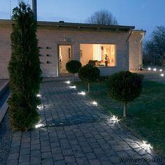 Ландшафтное освещение - освещение в ландшафтном дизайне