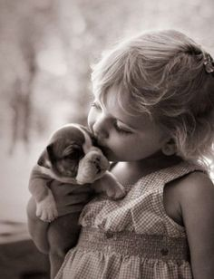 Sydney with her puppy • photo: sunnyaggie2005 on Flickr