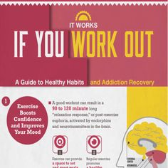 Tips to Exercise to Beat Addiction, Anxiety, and Depression [by Morningside Recovery via #Tipsographic]. More at tipsographic.com