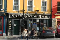 Bantry Bay, Ireland had a drink in here