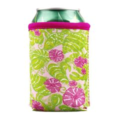 lilly pulitzer koozies. $6.00