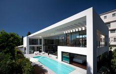 Maison moderne contemporaine en Israel #architecture #maisonmoderne #maisoncontemporaine #maisondesign