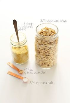 Full size of vegan parmesan cheese recipe minimalist baker recipes cashews nutritional yeast garlic powder and Recipes With Parmesan Cheese, Vegan Cheese Recipes, Vegan Parmesan Cheese, Vegan Sauces, Baker Recipes, Vegan Foods, Vegan Dishes, Dairy Free Recipes, Raw Food Recipes