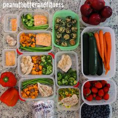 PEANUT BUTTER AND FITNESS: Meal Prep 101 and 1 Week Meal Prep