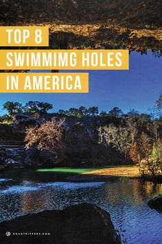 Take a break and relax at one of these top swimming holes.