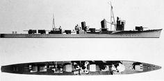 IJN Destroyer Shigure class 1939